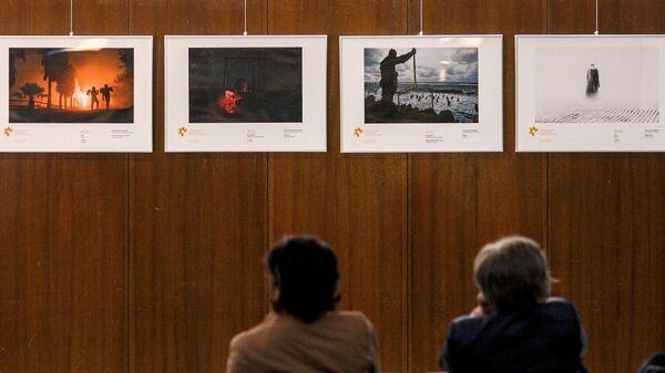 Открытие выставки победителей конкурса им. Андрея Стенина. Архивное фото