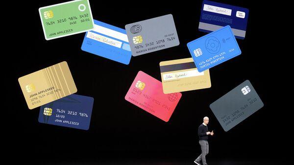 Презентация Apple Card в Купертино