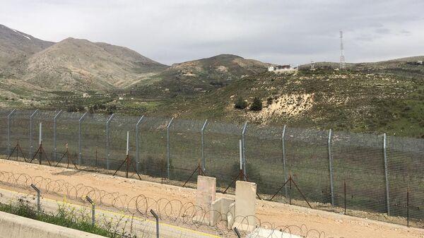 Линия разъединения Израиля и Сирии на Голанских высотах