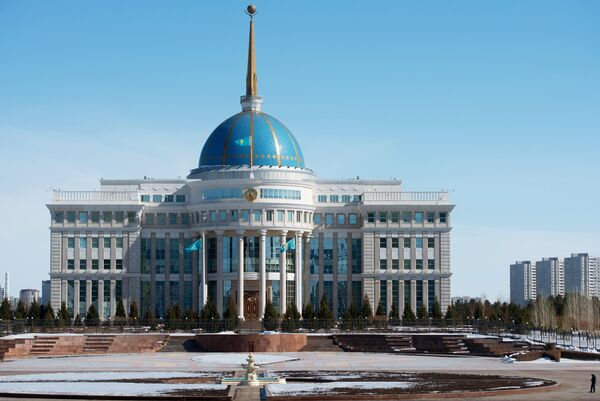 Дворец Президента Республики Казахстан Ак орда в Астане