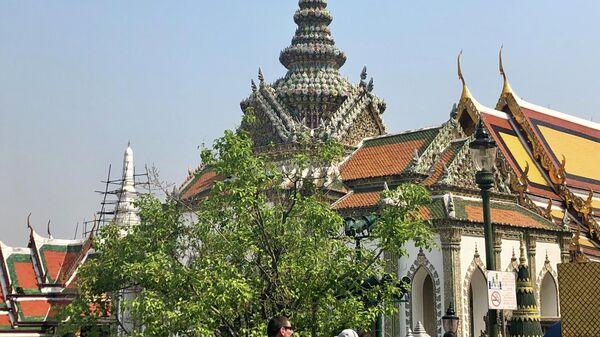 Одно из зданий на территории комплекса Большой дворец, Бангкок, Таиланд