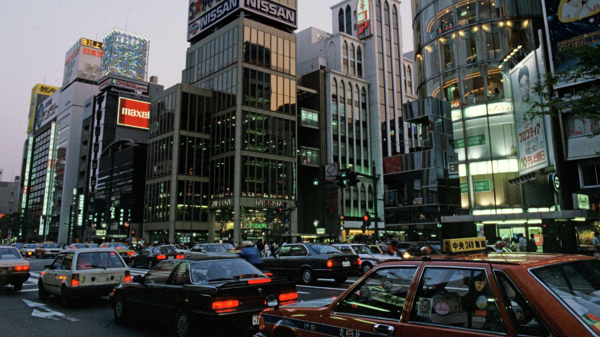 Киодо: в Токио водитель такси, сбивший переходов на тротуаре, скончался в больнице