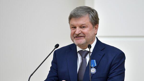 Директор по международному сотрудничеству и региональной политике госкорпорации Ростех Виктор Кладов