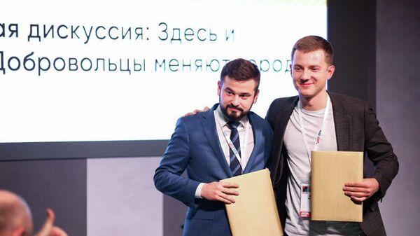 Подписание соглашения о сотрудничестве между Ассоциацией волонтерских центров и молодежной организацией Студенты России