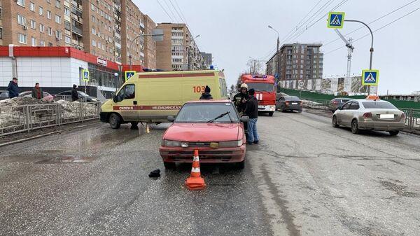 ДТП с наездом на пешеходов в Ижевске. 30 марта 2019