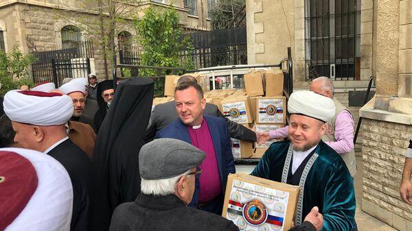 В Дамаске российские христиане и мусульмане раздали гумпомощь нуждающимся