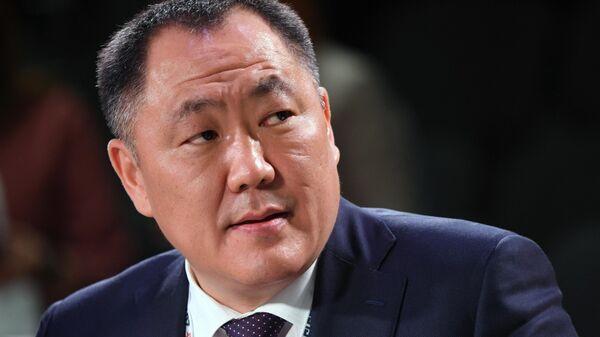Глава Тывы Шолбан Кара-оол на Красноярском экономическом форуме
