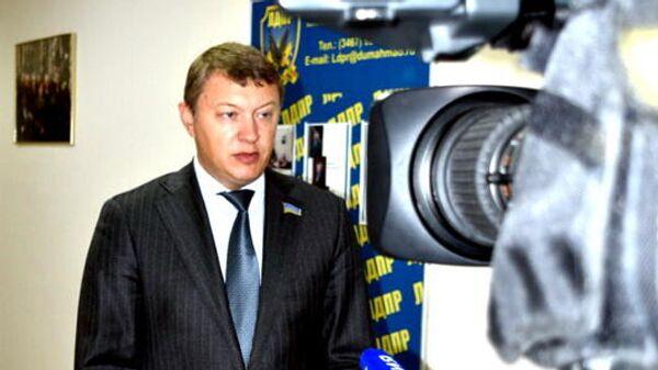 Депутат от ЛДПР Евгений Марков