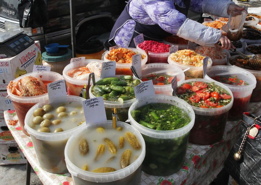 Общегородская продовольственная ярмарка во Владивостоке
