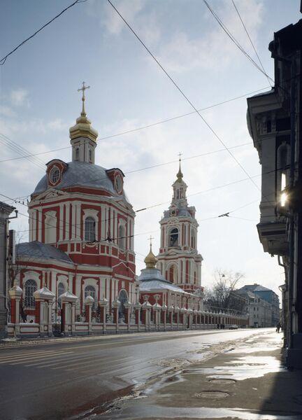 Церковь Никиты Великомученика (1745-1751) на Старой Басманной в Москве