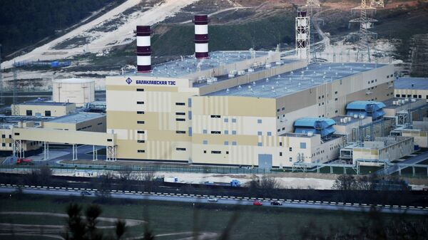Балаклавская ТЭС в Крыму