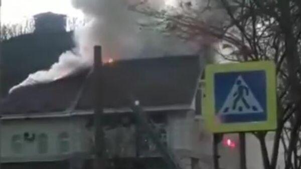 Пожар в Находке. 8 апреля 2019
