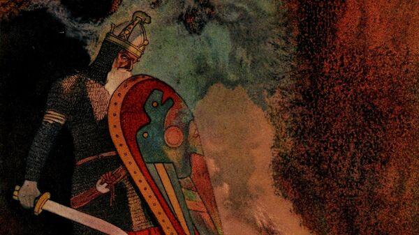 Беовульф и огнедышащий дракон