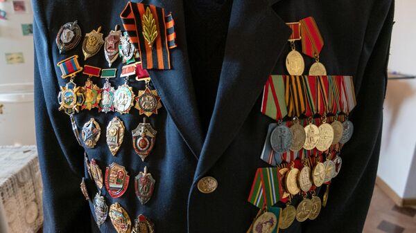 Ордена и медали ветерана Великой Отечественной войны