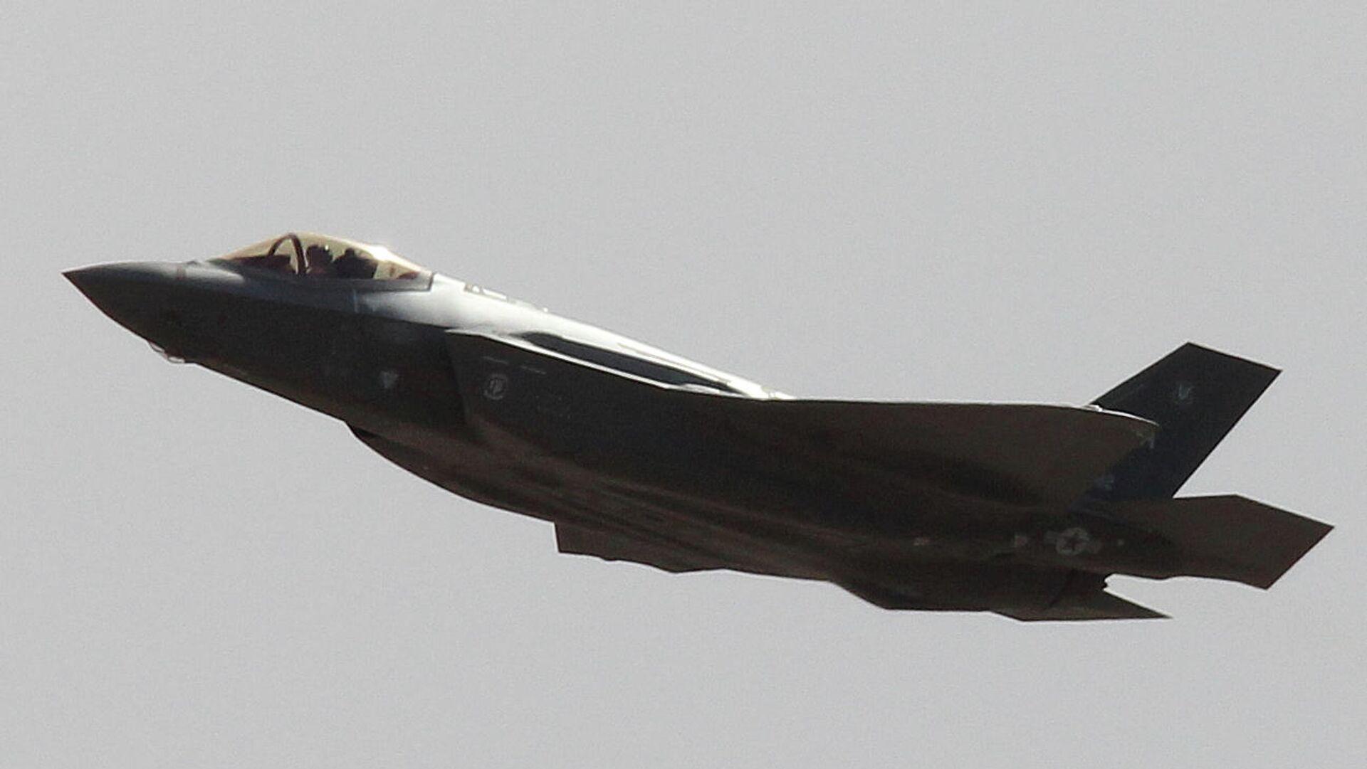 Истребитель F-35А - РИА Новости, 1920, 24.10.2020