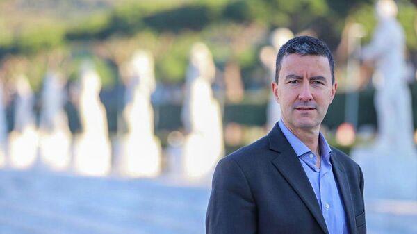 Кандидат от правой партии Братья Италии на предстоящих выборах в Европарламент Гай Муссолини