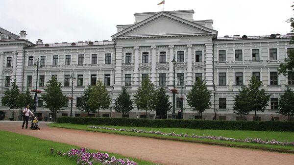 Здание Вильнюсского суда
