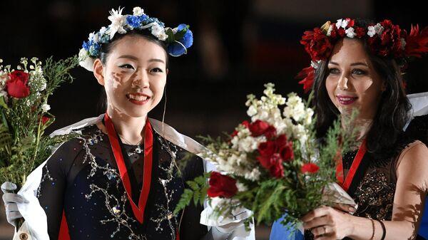 Рика Кихира (слева) и Елизавета Туктамышева