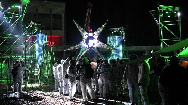 Арт-проект Артефакт в городе-призраке Припять, Украина