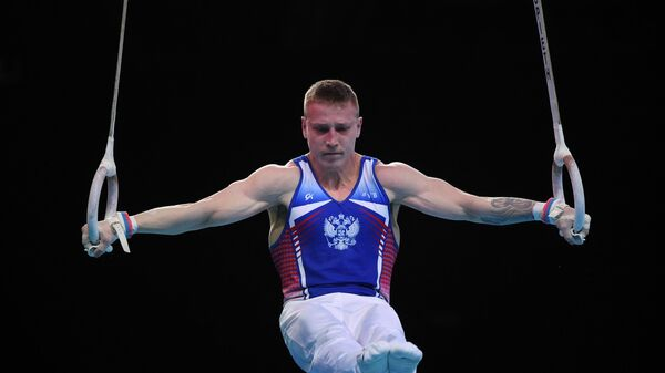 Аблязин выиграл золото чемпионата Европы в упражнениях на кольцах