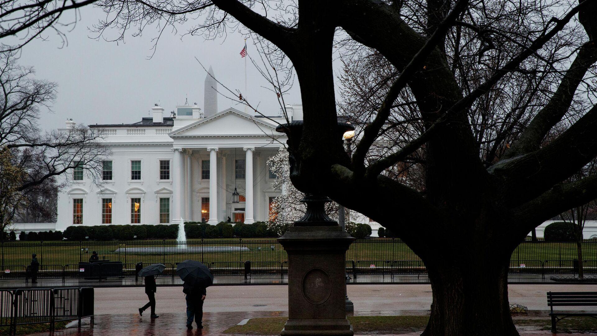 Здание Белого дома в Вашингтоне, США - РИА Новости, 1920, 26.07.2021