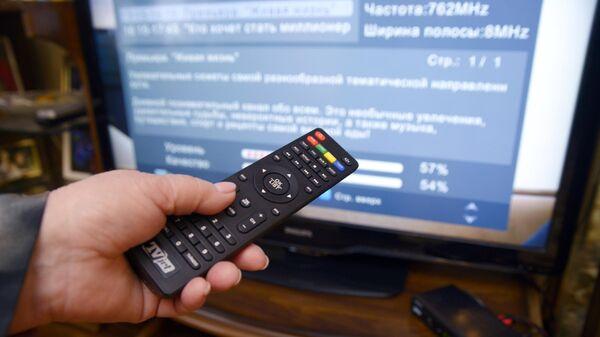 Переход с аналогового на цифровое телевещание. Архивное фото
