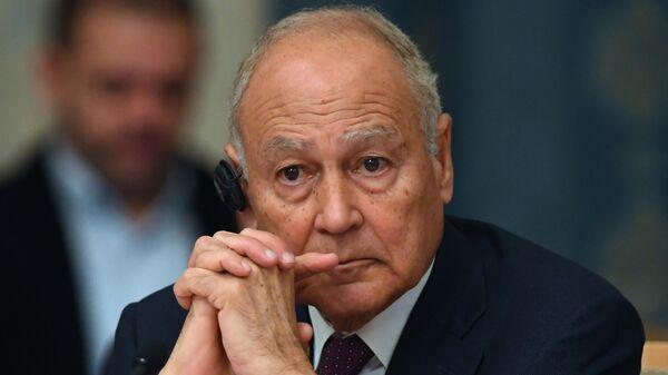 Генеральный секретарь Лиги арабских государств Ахмед Абуль-Гейт
