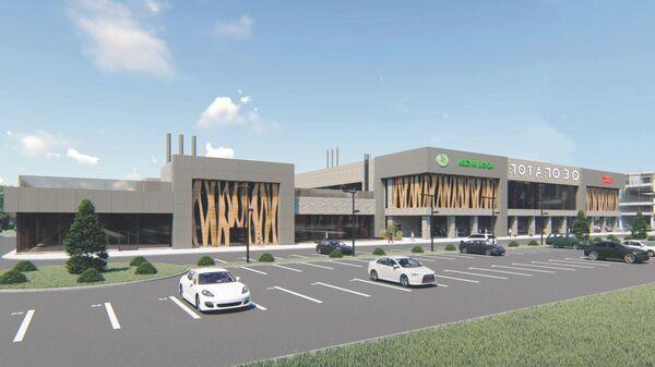 Проект торгового центра в Южном Бутове