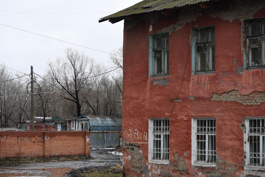 Цистерны в Кировском районе Омска