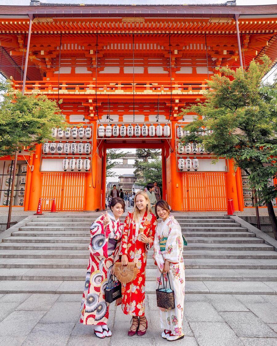 Гейши, Киото