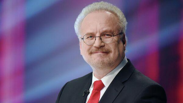 Кандидат в президенты Латвии Эгил Левитс