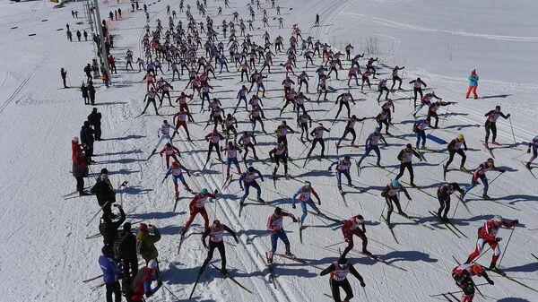 Международные соревнования по лыжным гонкам Авачинский марафон