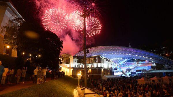 На открытии XXVII Международного фестиваля искусств Славянский базар в Витебске