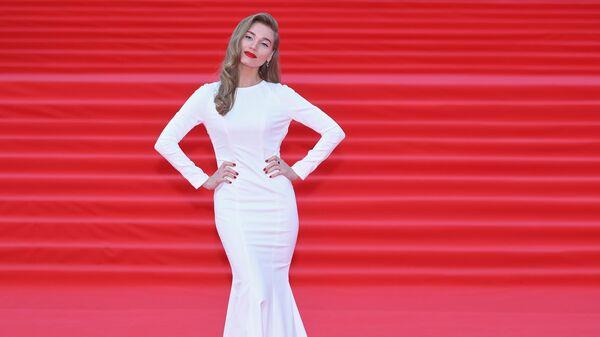 Актриса Кристина Асмус на открытии 41-го Московского Международного кинофестиваля (ММКФ)