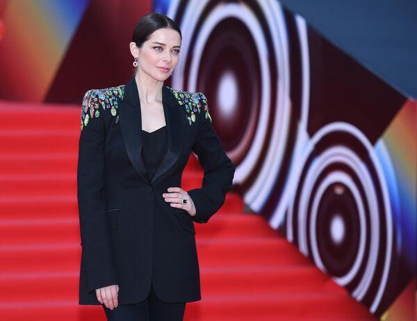 Актриса Марина Александрова на открытии 41-го Московского Международного кинофестиваля (ММКФ)