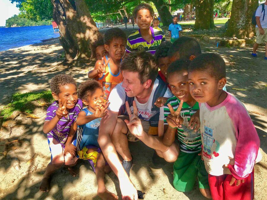 В гостях у племён Папуа Новой Гвинеи