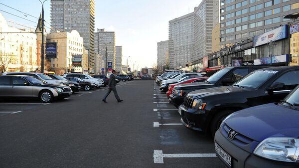 Открытие комплекса парковок на Новом Арбате