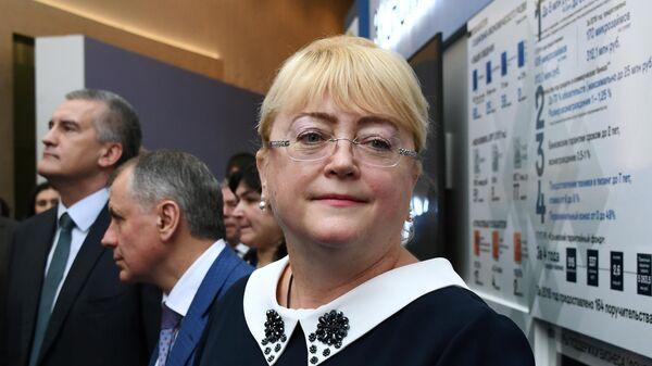 Министр финансов Республики Крым Ирина Кивико на Ялтинском международном экономическом форуме