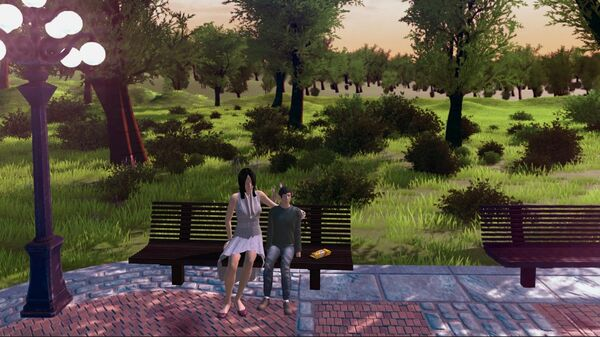 Скриншот из VR проекта Механика Аутизма. Почему они так реагируют?