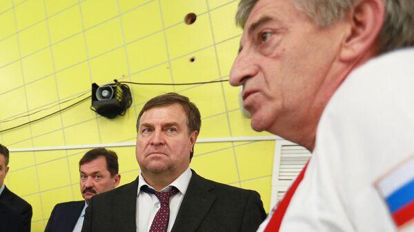 Владимир Сальников и Сергей Чепик (слева направо)
