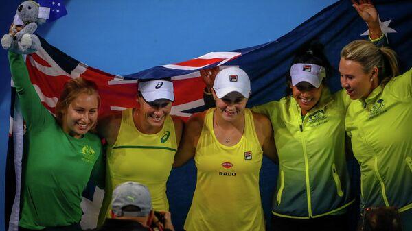 Теннисистки сборной Австралии