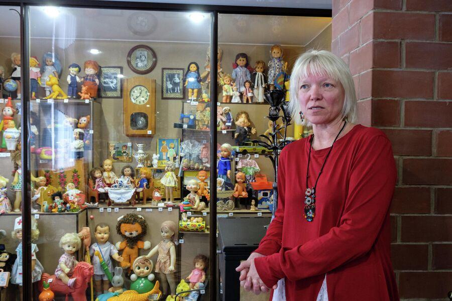 В экспозиции музея кукол более двух тысяч экспонатов