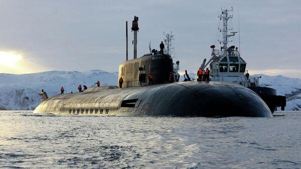 Атомный подводный ракетный крейсер Северного флота Орёл