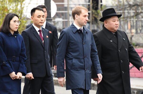 Лидер КНДР Ким Чен Ын во Владивостоке