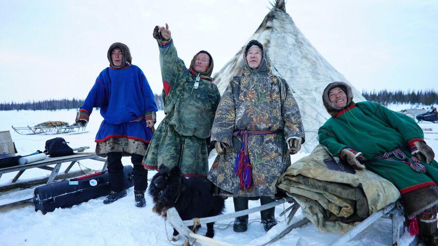 Жители Ямала – ненцы-оленеводы