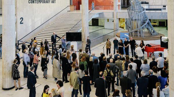 Выставка художника Хаима Сокола в Третьяковке, посвящённая памяти жертв Холокоста