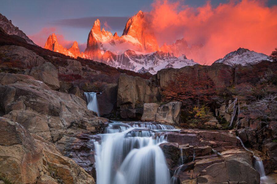 Патагония, Аргентина, гора Фицрой