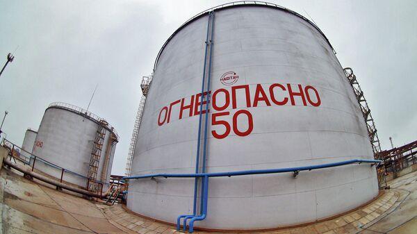 Нефтеперерабатывающий завод в городе Новополоцке
