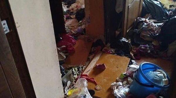 Квартира в Ставрополе, в которой нашли малолетних детей
