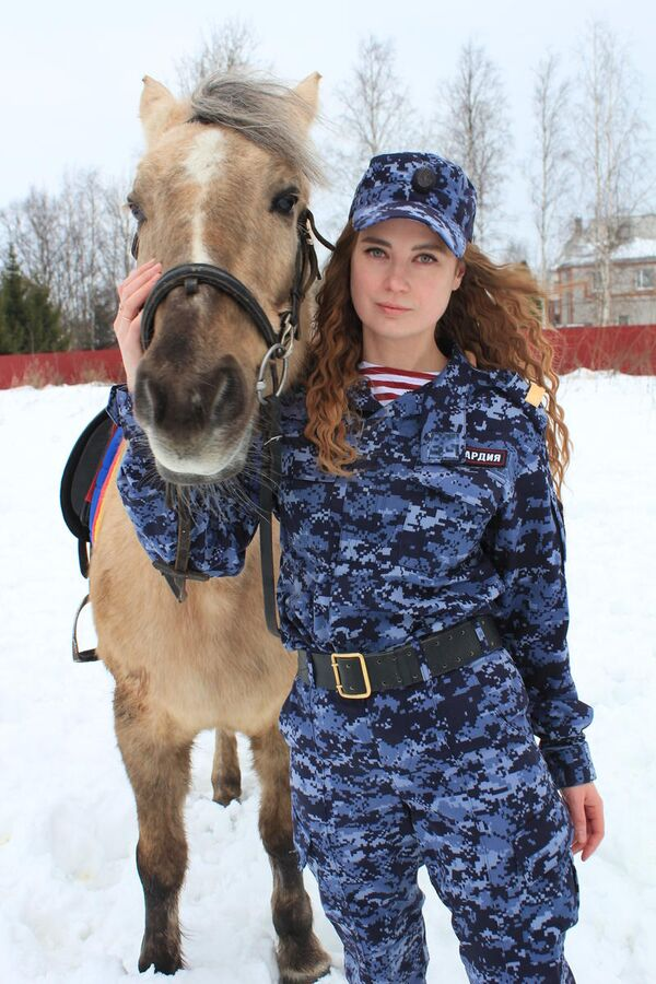 Старший сержант полиции Виктория Бредихина, г. Санкт-Петербург